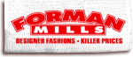 Forman Mills discount codes
